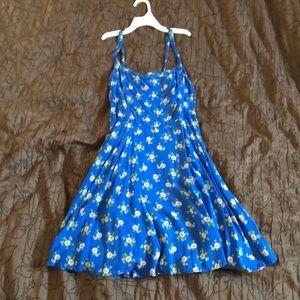 Abercrombie&Fitch Blue Floral Dress